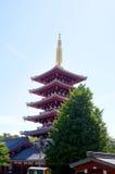 Asakusa świątynia Obraz Stock