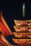 Asakusa świątynia Japonia Fotografia Royalty Free