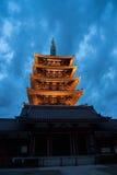 Asakusa świątynia w Tokio, Japonia obrazy royalty free