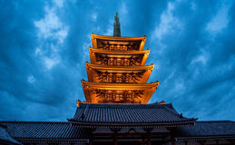 Asakusa świątynia w Tokio, Japonia zdjęcia stock