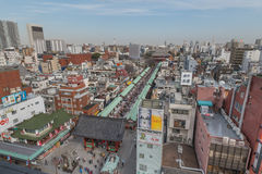 Asakusa-Bereich Stockbilder