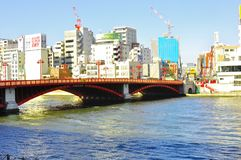 Asakusa bridge Stock Images