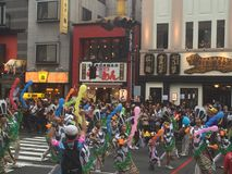 Asakusa carnival Stock Photography