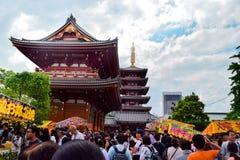 Asakusa del templo de Japón fotos de archivo libres de regalías