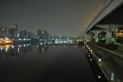 Asakusa di notte Immagini Stock