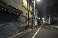 Asakusa di notte 2 Fotografia Stock