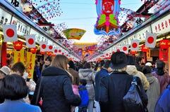 asakusa dori Japan nakamise sensoji Tokyo Obrazy Stock