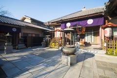 Asakusa - Japan, 20 Februari, 2016: Het symbool van de Sensojitempel van Stock Fotografie