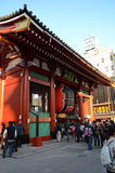 ASAKUSA, JAPAN- NOV 21, 2013: Sensoji temple is very popular tem Royalty Free Stock Image