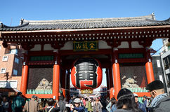 ASAKUSA, JAPAN- NOV 21, 2013: Sensoji temple is very popular temple Stock Image