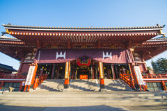 Asakusa, Japonia -, Luty 20, 2016: Sensoji świątynny symbol Zdjęcia Stock