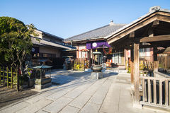 Asakusa, Japonia -, Luty 20, 2016: Sensoji świątynny symbol Obrazy Royalty Free