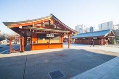 Asakusa, Japonia -, Luty 20, 2016: Sensoji świątynny symbol Fotografia Stock