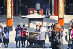 Asakusa, Japonia -, Luty 20, 2016: Sensoji świątynny symbol Fotografia Royalty Free