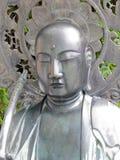 asakusa kannon雕象寺庙 免版税库存图片