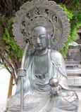 asakusa kannon雕象寺庙 免版税库存照片