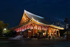 Asakusa Kannon or the Sensoji Temple in Tokyo, Japan Stock Images