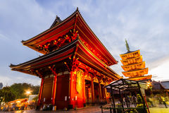 Asakusa Kannon Temple is a Buddhist temple located in Asakusa. Royalty Free Stock Images