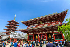 Asakusa Kannon Temple. Royalty Free Stock Photography