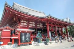 Asakusa Kannon Temple, Tokyo, Japan Royalty Free Stock Photo