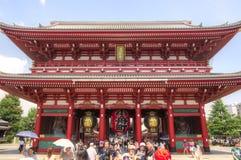 Asakusa Kannon Temple, Tokyo, Japan Royalty Free Stock Photography