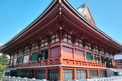Asakusa Kannon Temple, Tokyo, Japan Stock Photos