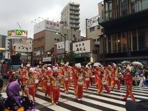 Asakusa karneval Arkivfoton