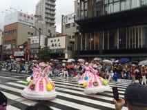 Asakusa karneval Arkivbilder