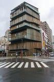 Asakusa kultur och turismmittbyggnad royaltyfria foton