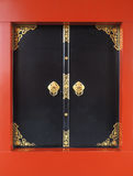 Asakusa noir de porte, temple de sensoji Image stock