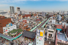 Asakusa område Arkivfoton