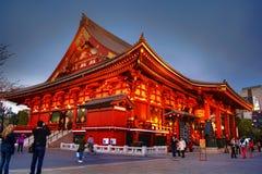 Asakusa SensÅ  - ji świątynia, Tokio Obrazy Stock