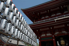 Asakusa Senso Buddhist temple, Tokyo, Japan Stock Photos