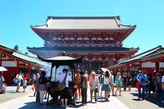 Asakusa Senso-ji temple Stock Photo