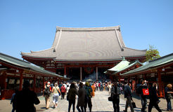 Asakusa Senso Temple, Tokyo, Japan Stock Images