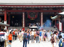 Asakusa or Sensoji temple Royalty Free Stock Image