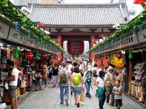 Asakusa or Sensoji temple Stock Images