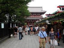 Asakusa or Sensoji temple Royalty Free Stock Photos