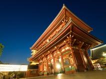 Asakusa shrine door Royalty Free Stock Photography