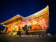 Asakusa Shrine Senjoji Temple. Asakusa Shrine in the night Royalty Free Stock Photography