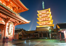 Asakusa shrine Royalty Free Stock Image