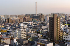 Asakusa skyline in Tokyo, Japan. Royalty Free Stock Photography
