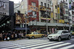 Asakusa Station Tokyo Royalty Free Stock Photography
