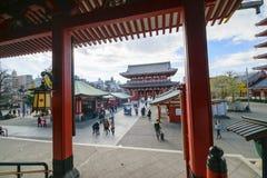 Asakusa Tempel Lizenzfreies Stockfoto