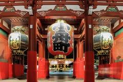 Asakusa Tempel Lizenzfreie Stockfotos