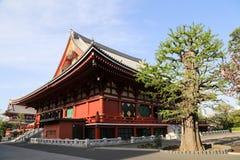 Asakusa tempel Fotografering för Bildbyråer