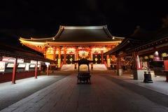 Asakusa tempel på Tokyo Japan Royaltyfria Foton