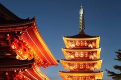 Asakusa temple Royalty Free Stock Image