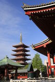 Asakusa Temple. With blue sky Stock Photography