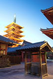 Asakusa  temple at Tokyo Japan Royalty Free Stock Photography